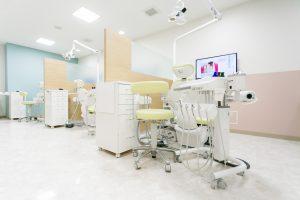 野田駅前歯科クリニック診察室